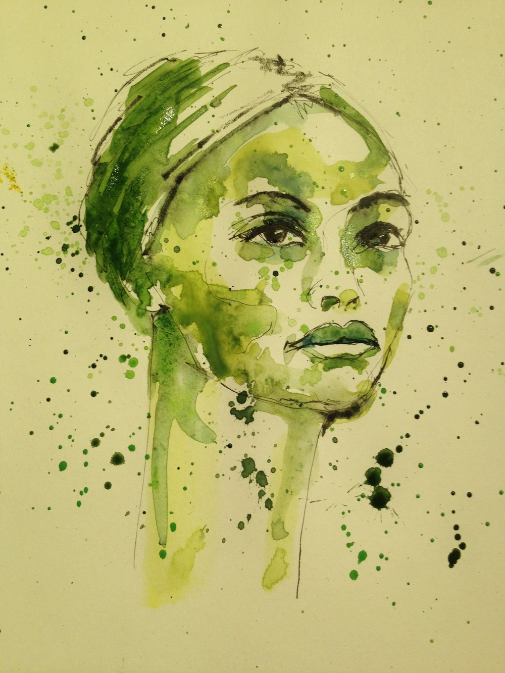 Portrait in Green