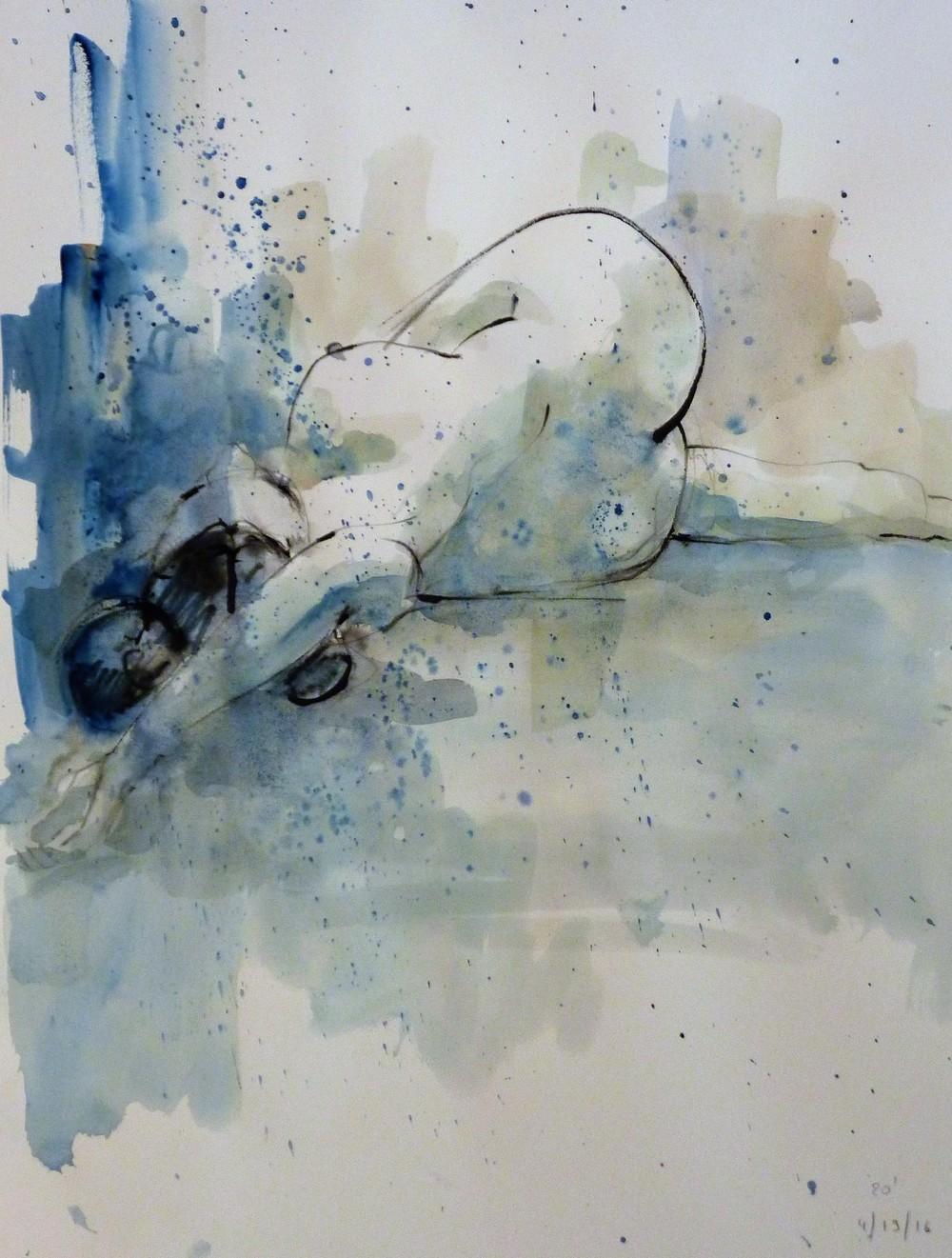 Ali reclining