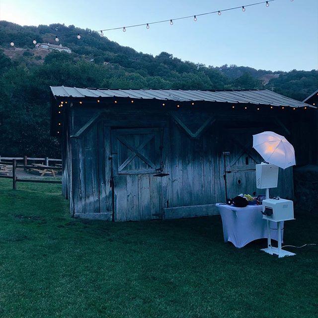 pretty day for a barn wedding