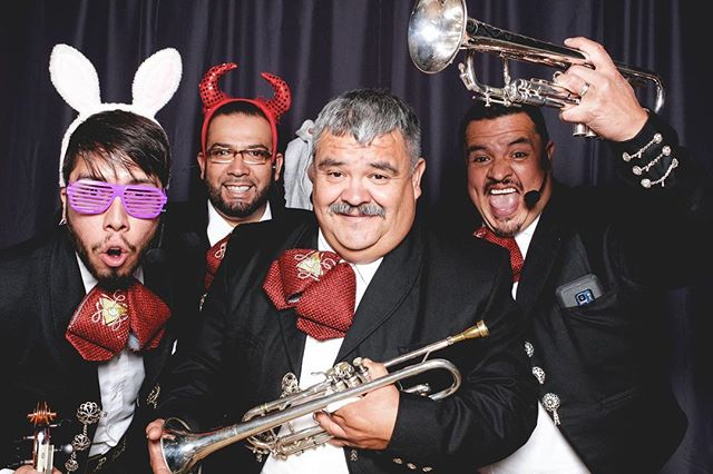 Fun times at The Rokes Wedding #joelida11.17.18 #weddingbooth #mariachijaliscosanjose
