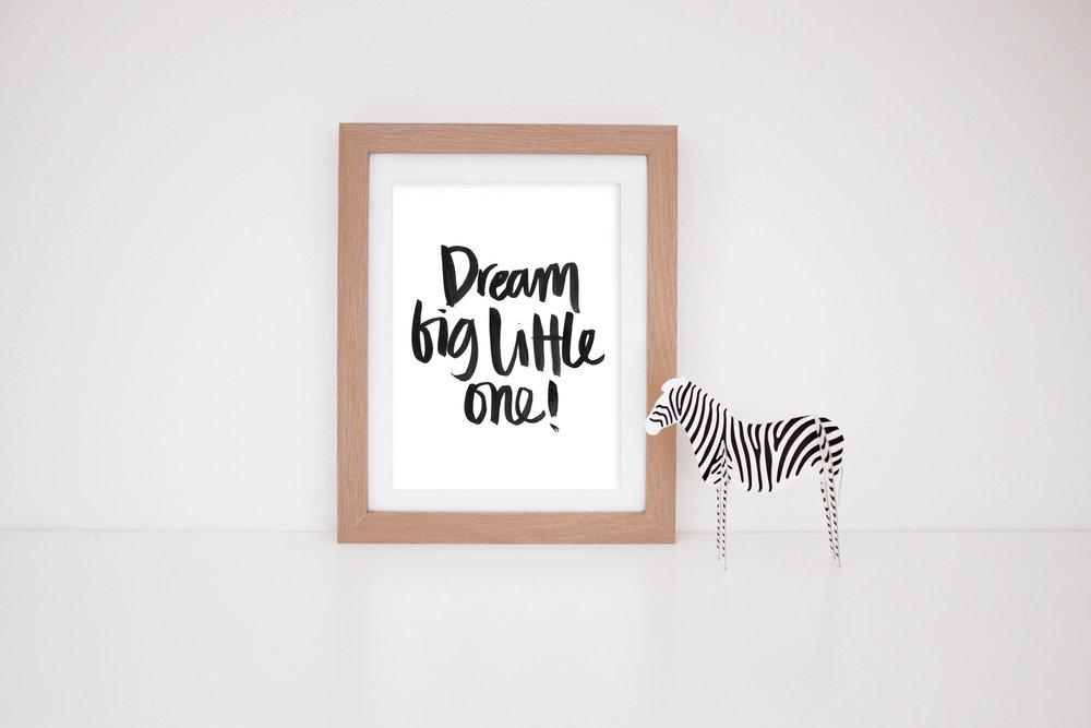 MaryRizzaCruzCreative_ArtInFrame_Zebra_Nursery_BL_DreamBigLittleOne_2016.jpg