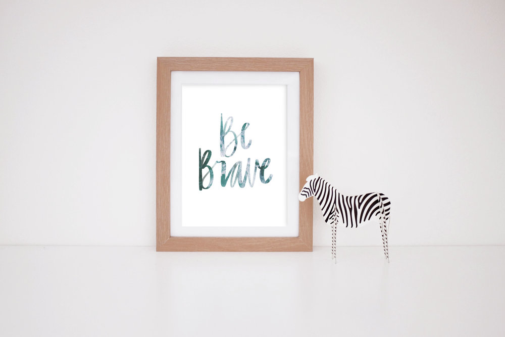 MaryRizzaCruzCreative_ArtInFrame_Zebra_Nursery_Procreate_BeBrave-Colour_2016.jpg