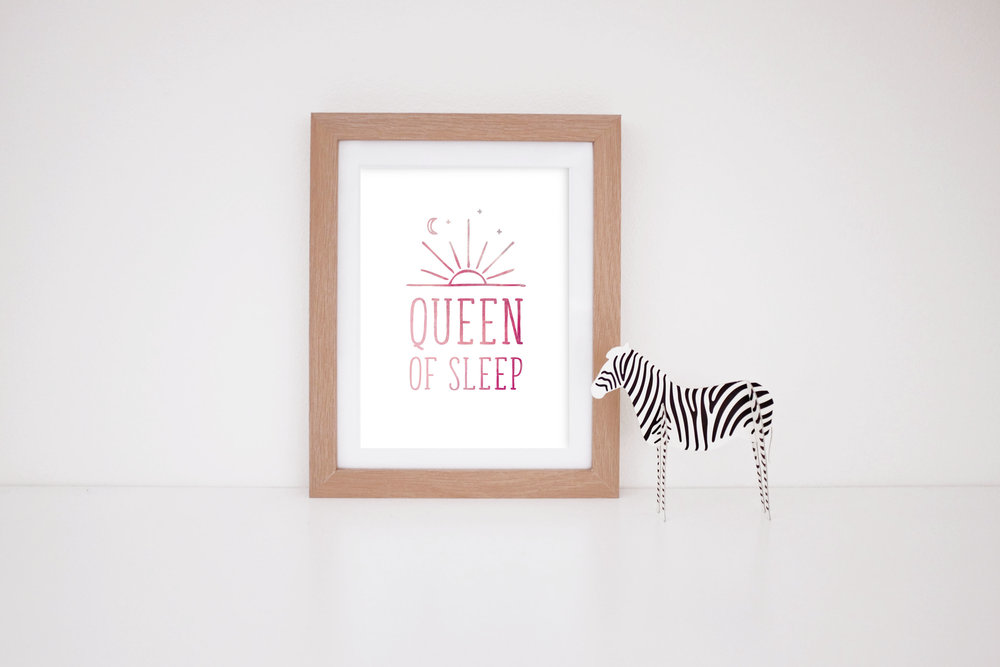 MaryRizzaCruzCreative_ArtInFrame_Zebra_Nursery_Typo_QueenOfSleep_2016.jpg