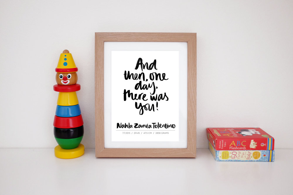 MaryRizzaCruzCreative_ArtInFrame_Nursery_Quote&CustomNewbornPrint_2016.jpg