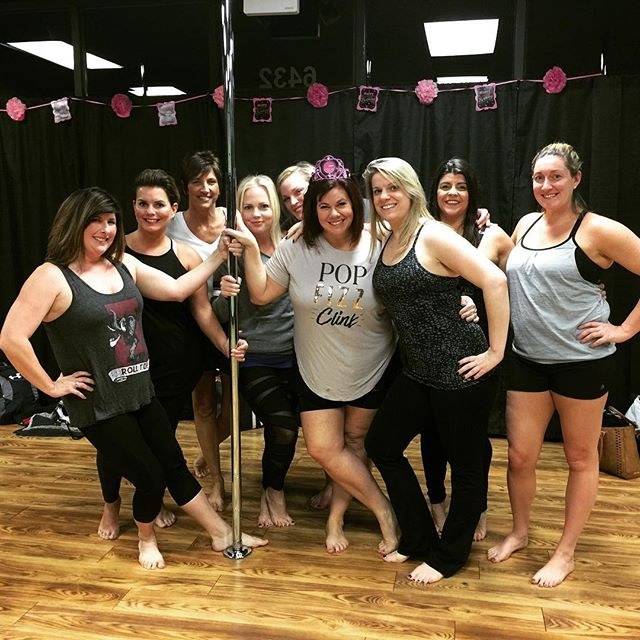 Had a blast with this lovely group of ladies! It was an Honor Celebrating your birthday Kelly! Thank you for choosing to celebrate with us at the Get Fit On The Go Studio!!! Have a birthday, bachelorette party, or need a ladies night out! Call us today to book a Pole Party! #poledancing #poleparty #celebration #birthday #bacheloretteparty #ladiesnight #nashville #nolensville #brentwoodtn #antioch #nolensville411 #bachelorette #birtday #birthdayparty