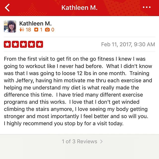 """Lifeline to Success"".... Only a month into things and we are already changing lives! We will never take all the credit for what our clients accomplish. They do the work! What our motivators strive to do is take the guessing out of things and give you a clear road map with no pit stops straight to your goals. Kathleen started with us the day we open and a month later she is already DOWN 12lbs! Can't wait to see what the next months results will be. Our personal training program is on point! Book your FREE consultation today let us become ""Your Lifeline to Success"" www.getfitonthego.com #getfitonthego #1gym1goalletsgo #personaltrainer #personaltraining #nolensville #brentwood #nolensvilletn #brentwoodtn #antioch #transformation #fitfam #motivation #musiccityfit"