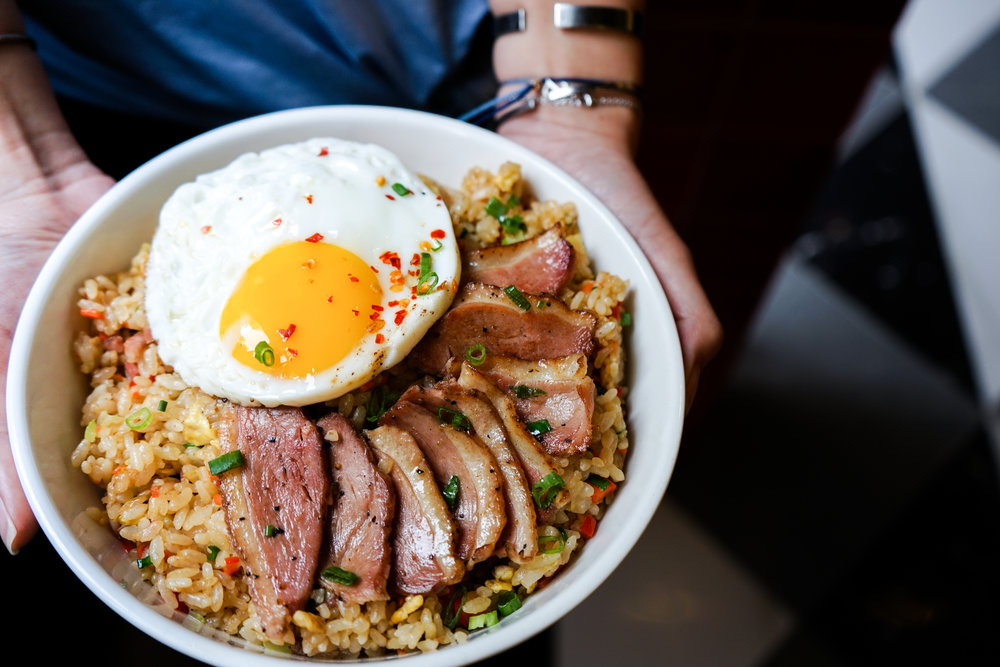 Smoked Duck Rice