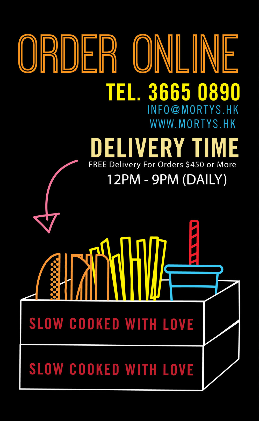 NOW OFFERING DELIVERY IN WANCHAI!! - ORDER ON-LINE FOR PICK-UP OR DELIVERY! NOW AVAILABLE: MORTY'S STARSTREET