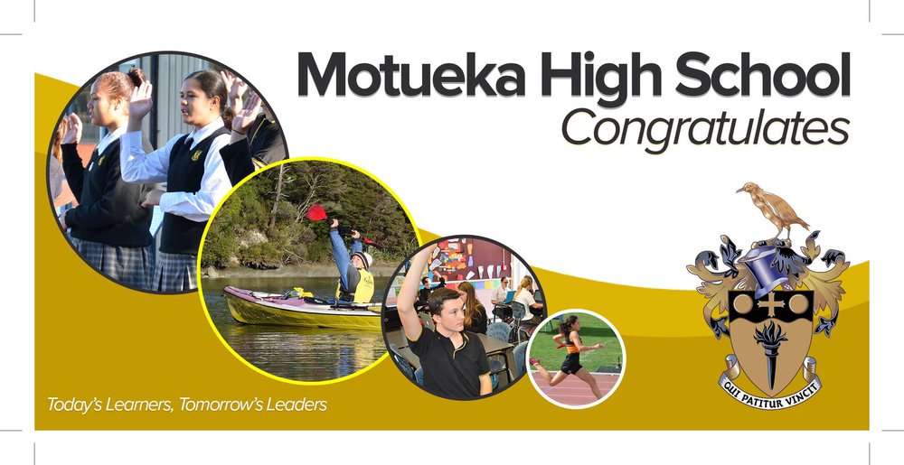 Redevelopment of Motueka High School identity design