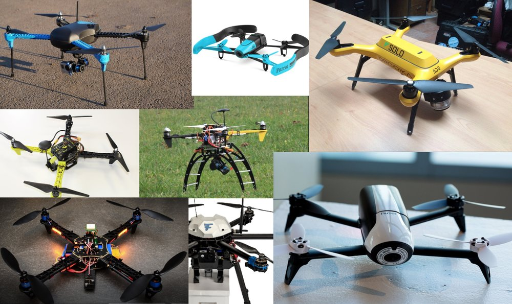Wide range of supported drones.