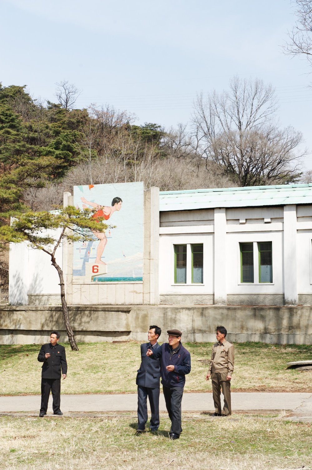 Pool, North Korea Architecture of Propaganda - Wolf Nitch Photography
