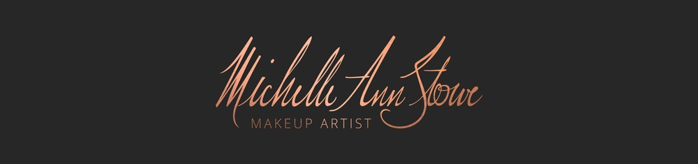 Logo, Brand, & Website Design for Makeup Artist Michelle Ann Stowe by Tarragon Studios. Keep reading to see more of how Michelle's Custom Signature Logo was designed! #logo #branding #website #design #makeup #signature