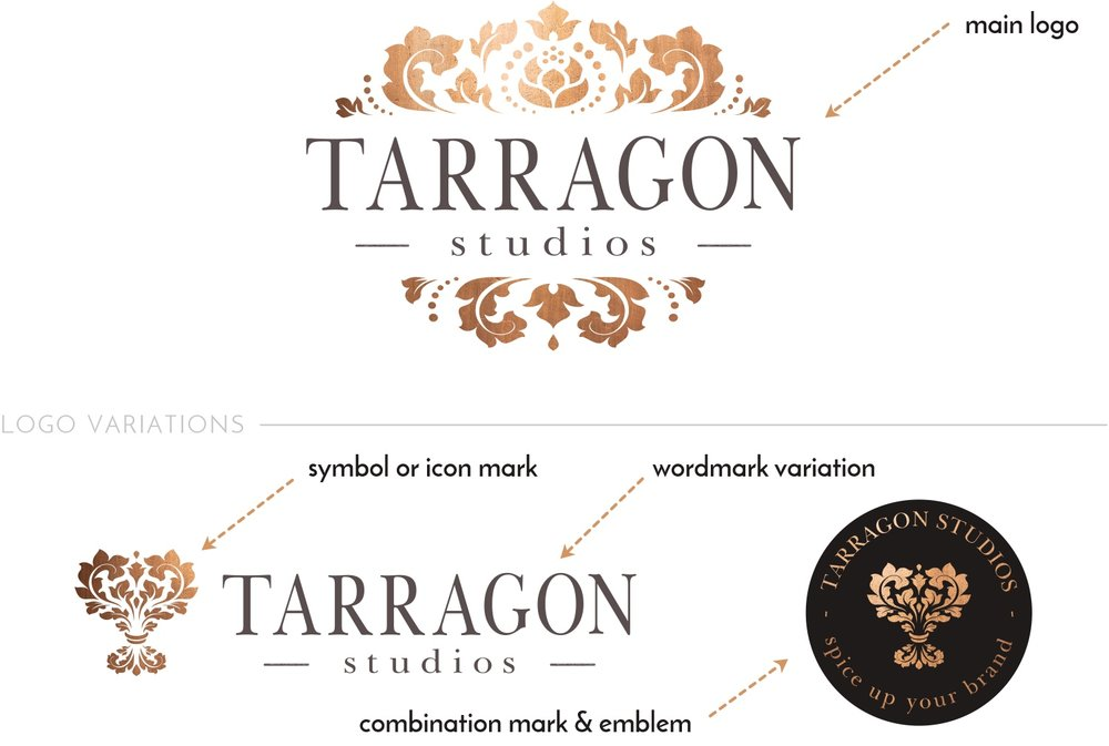 Logo variations illustration