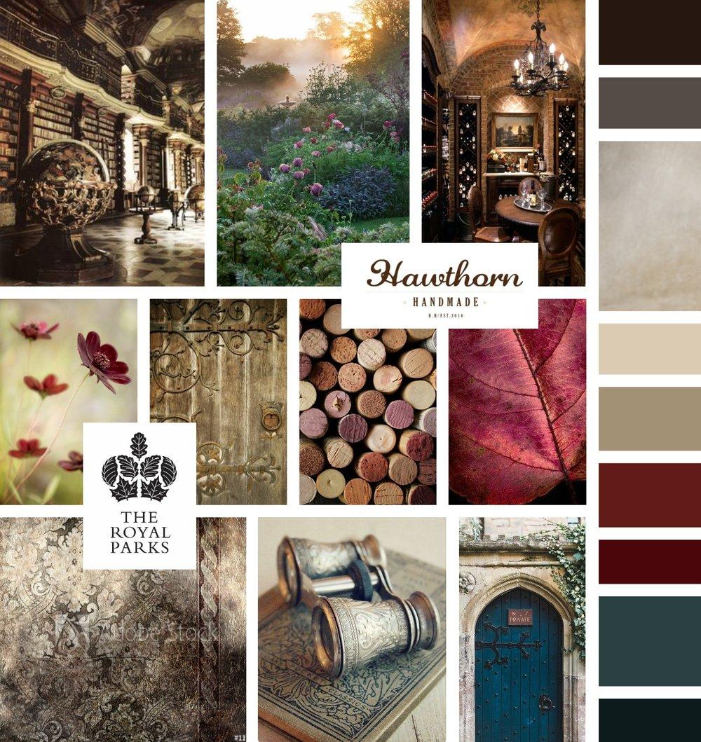 Silver Leaf Costumes - Mood Board - by Tarragon Studios