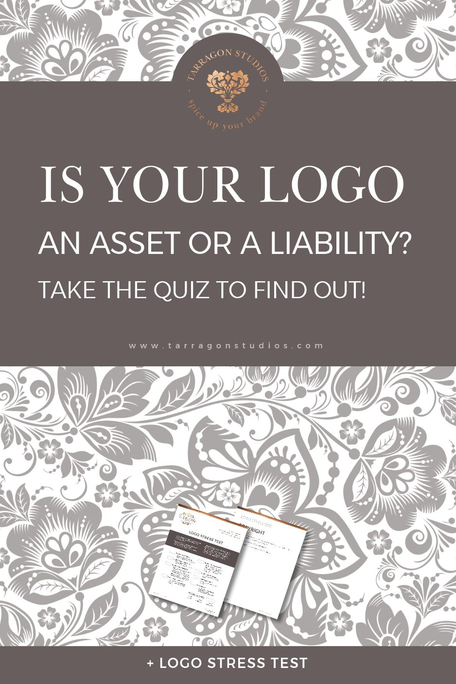 """The purpose of any """"good"""" logo is to communicate who you are to your audience at a glance. A good logo is an essential asset to your business, while a bad one can be the exact opposite. Is it time for a re-brand? Take the Logo Stress test here to find out! #logo #branding #rebrand #smallbusiness"""