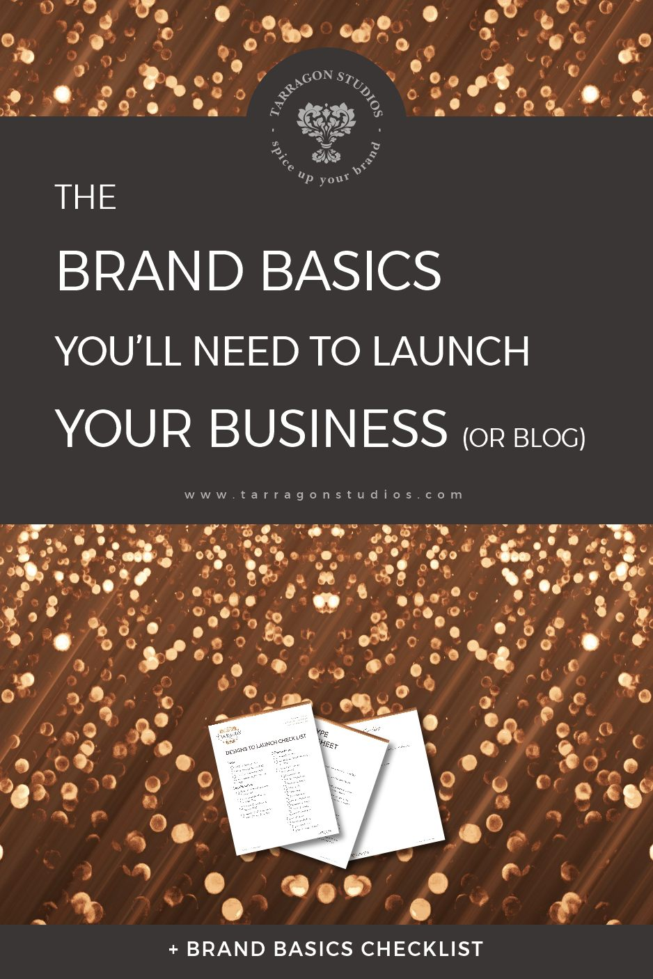 Everyone knows that your new business or blog needs a logo, but what else should you get from your designer? Continue reading to discover all the brand basics you'll need to create before you launch! #smallbusiness #branding #logo #business #blogging