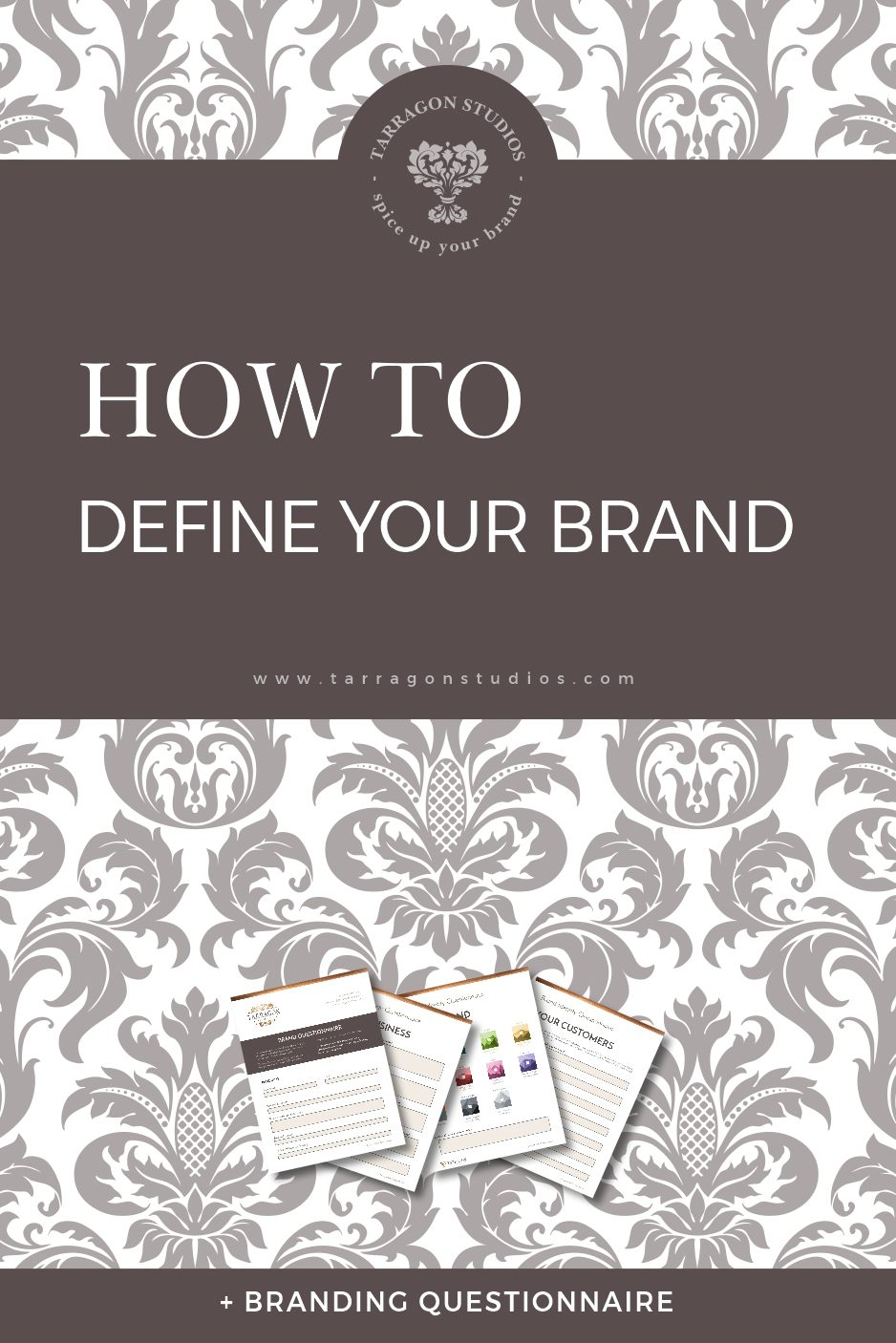 How to define your brand + free branding questionnaire. Click the image to download your free branding questionnaire!