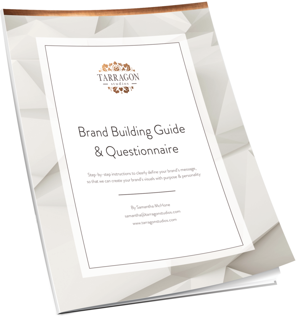 Brand Building Guide & Questionnaire by Tarragon Studios, LLC