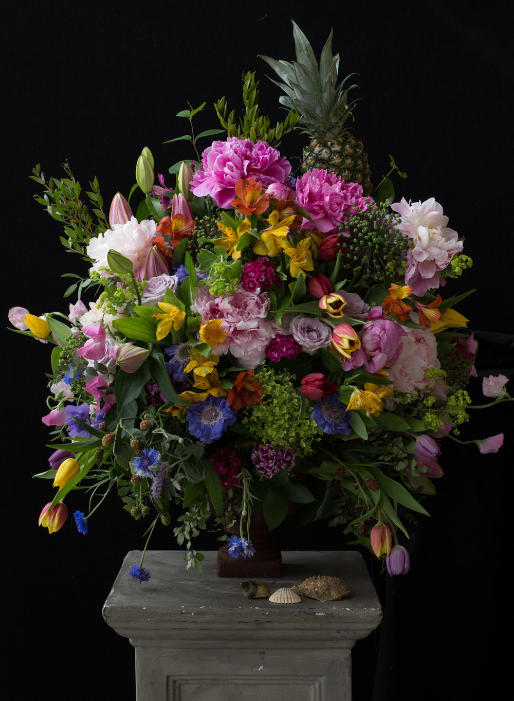 Dutch Masters Style Flowers Emma Davies Photography