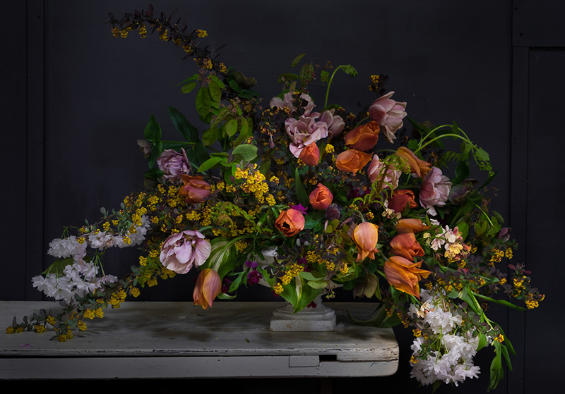 Floral design: Caroline at Cherfold Flowers