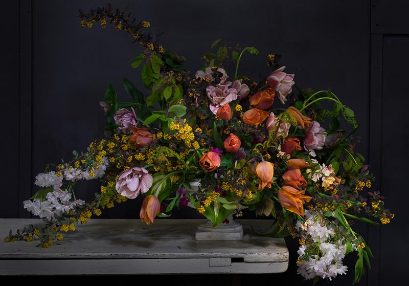 Floral design: Caroline at Cherfold Flowers