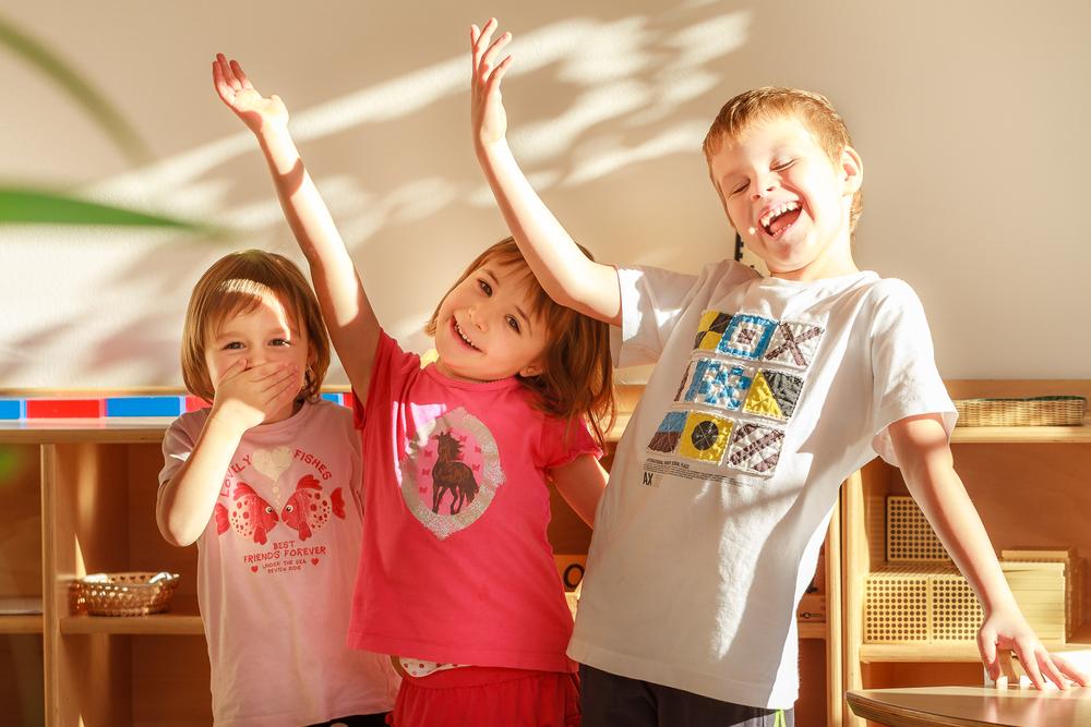 Děti z NestLingue školky