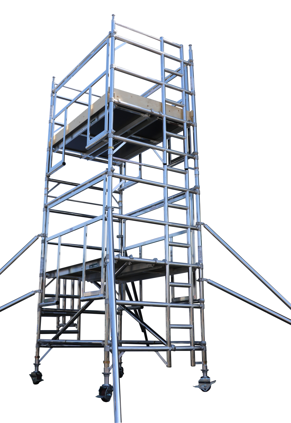 Aluminium access tower system | Euro Towers | AGR Tower | Advanced Gaurdrail