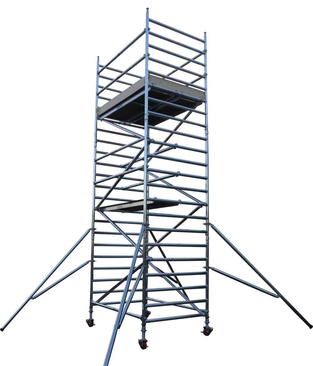 Aluminium access tower system | Euro Towers | 232 Tower | 232 narrow rung