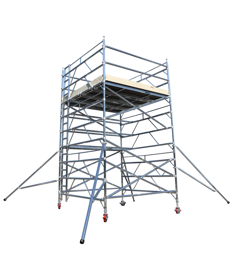 aluminium tower | double double tower | euro towers