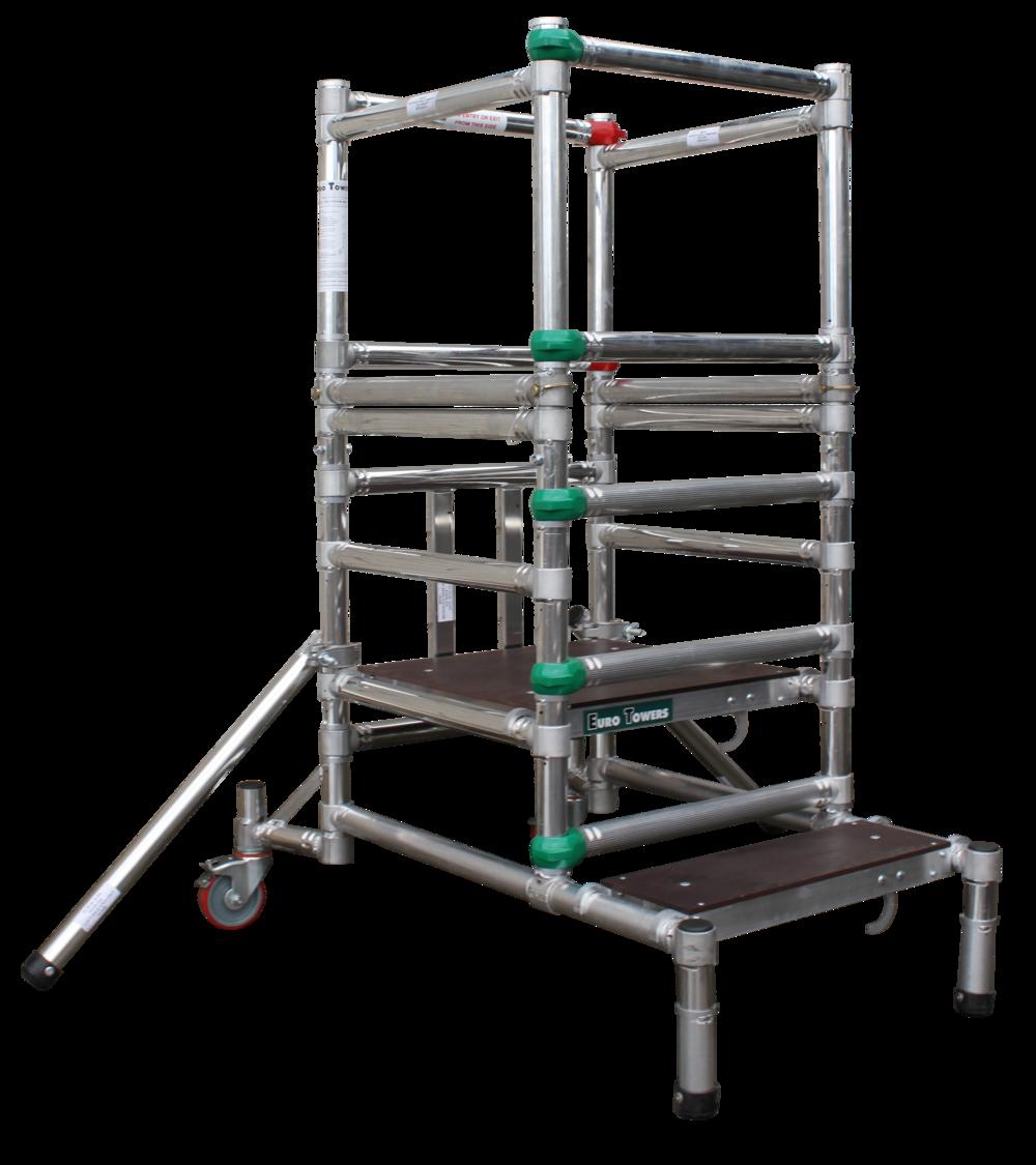 Aluminium Podium | Aluminium access tower system | Euro Towers | Microfold 1000 mk1