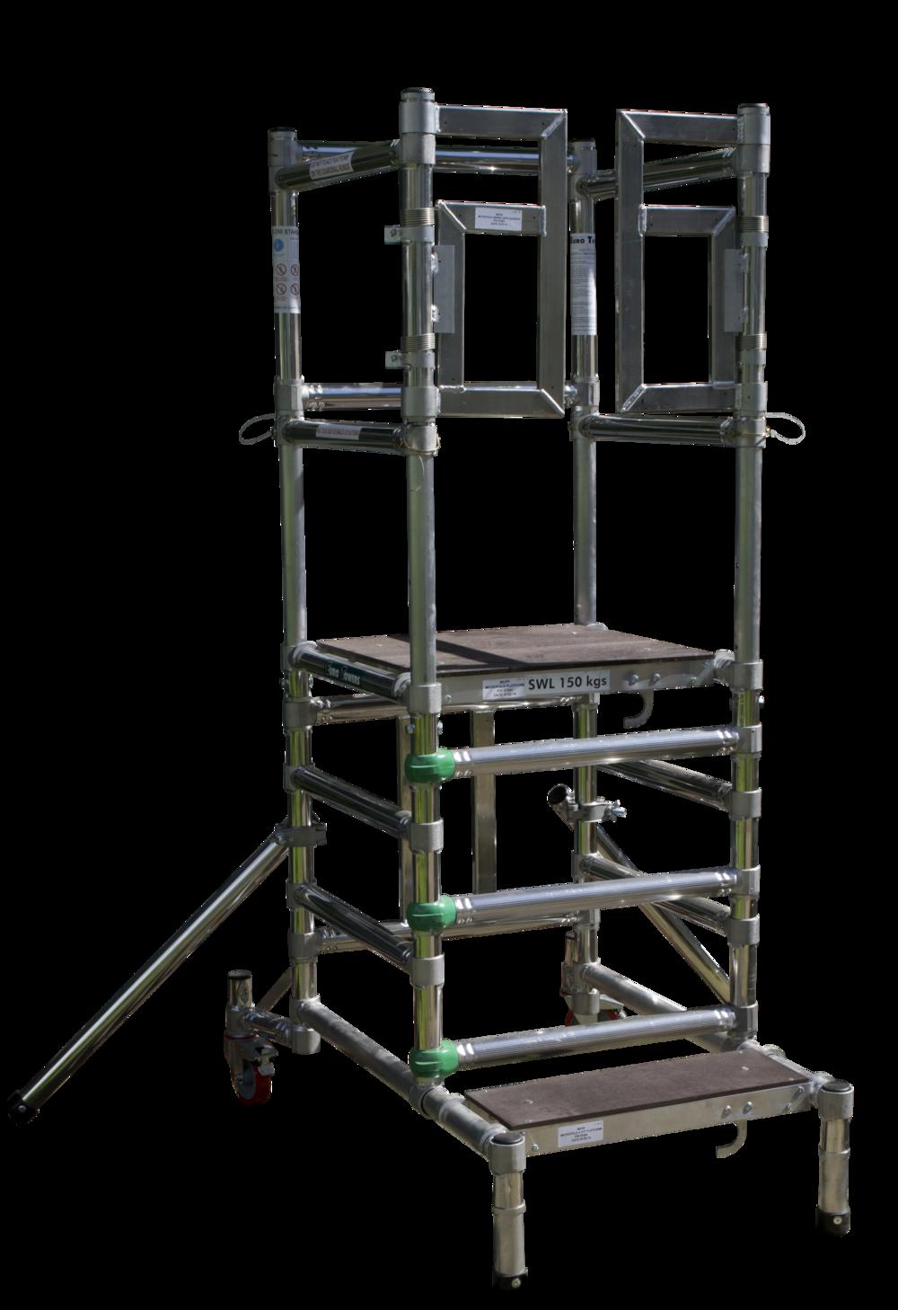 Aluminium Podiums | Microfold 1000 Mk3 | Aluminium access tower system | Euro Towers