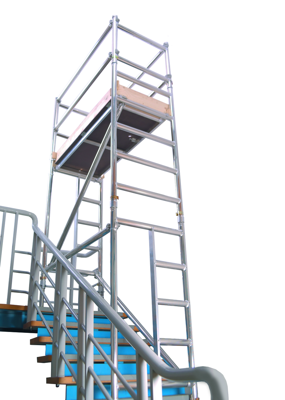 Tower Scaffold Stair Tower Stairway : Stairwell access unit stair euro towers ltd