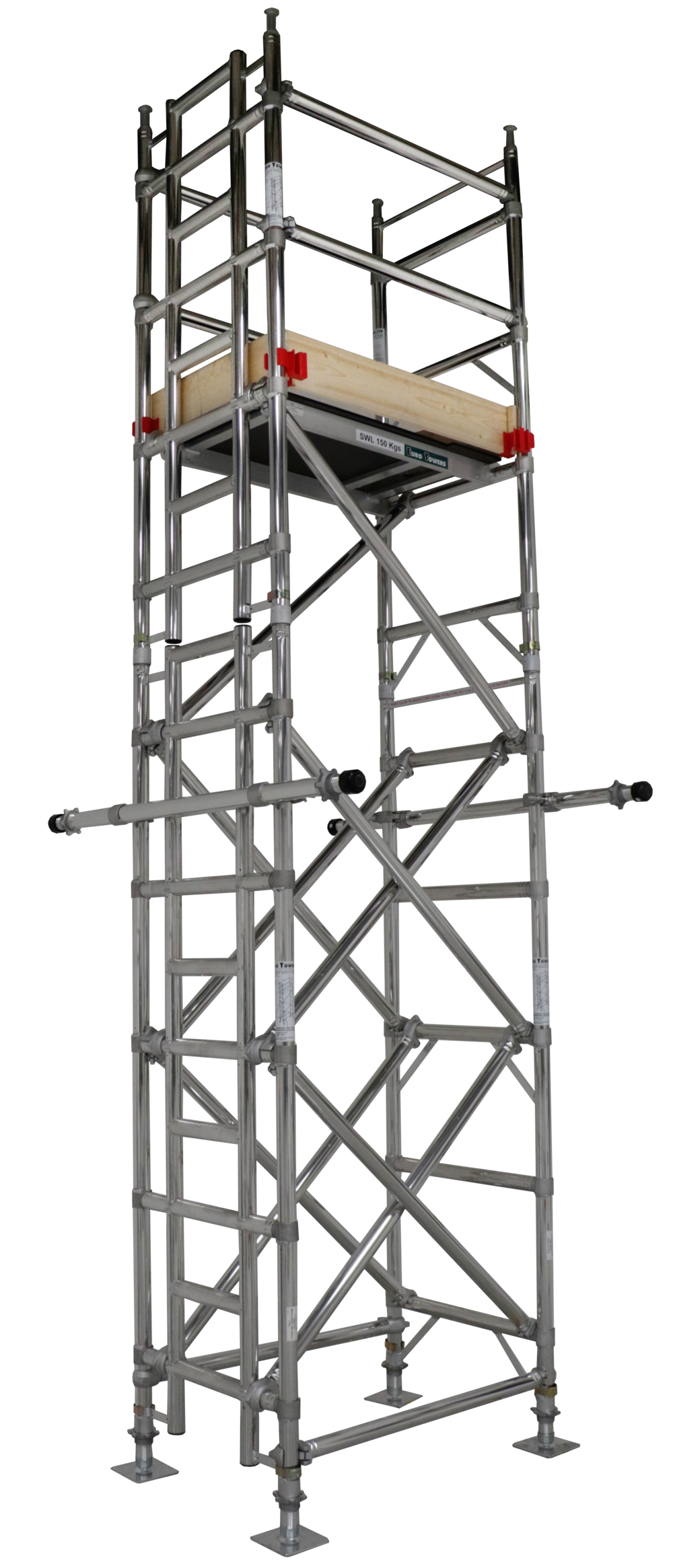 Lift shaft tower, assembly guide, lift shaft access, working at height, aluminium access, aluminium tower