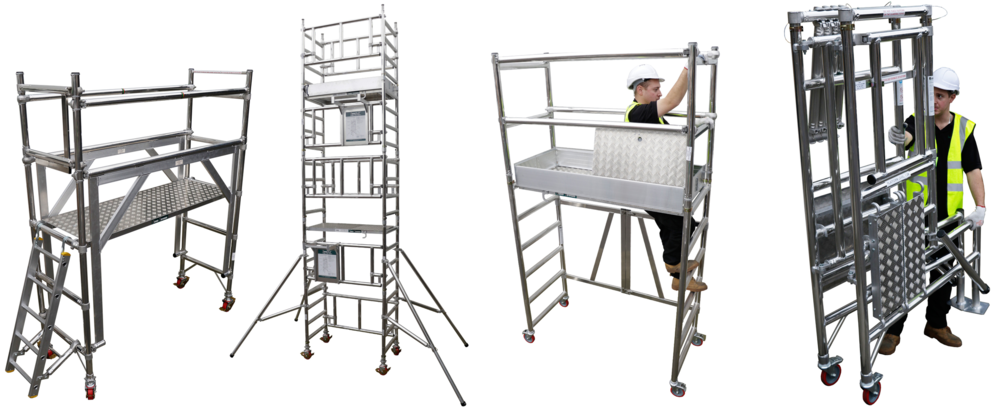 Euro Towers, aluminium access, working at height solutions, aluminium tower, aluminium podium