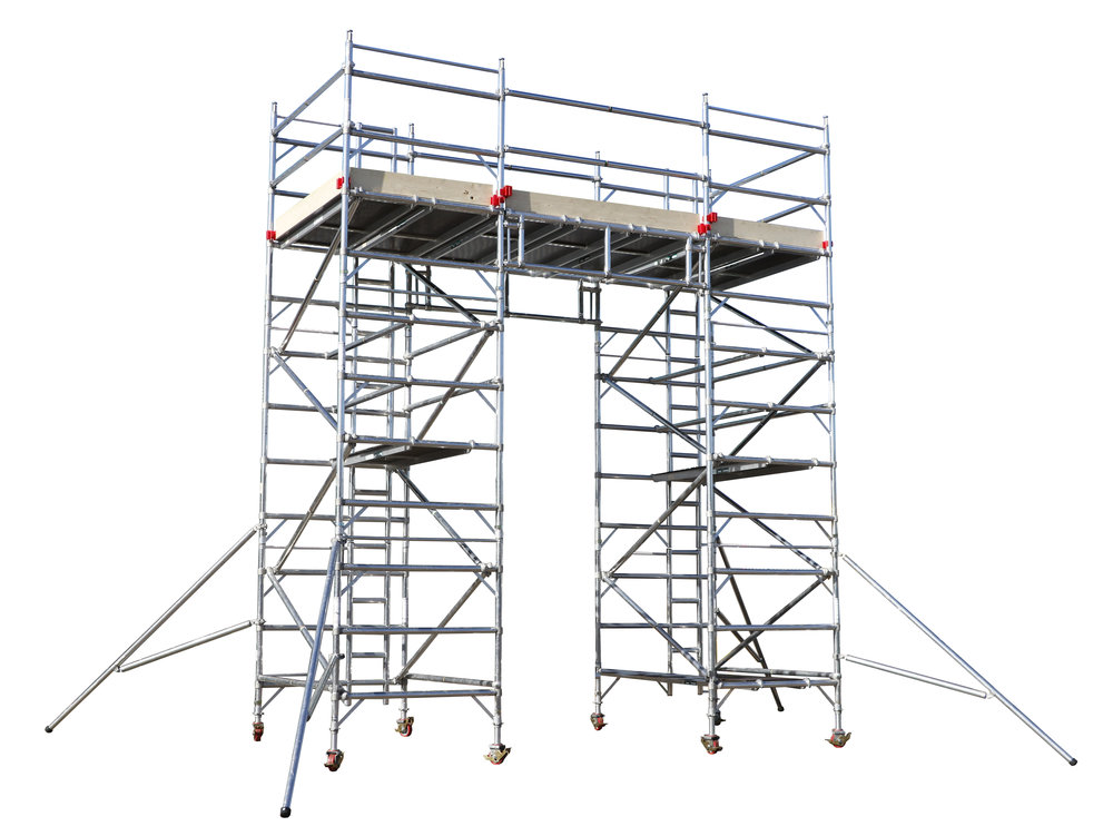 aluminium tower | euro towers | bridging systems