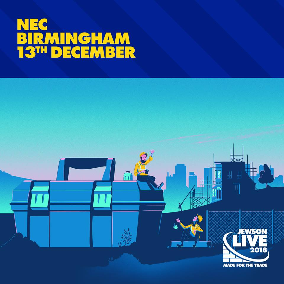 euro towers, jewson love, trade show, NEC Birmingham