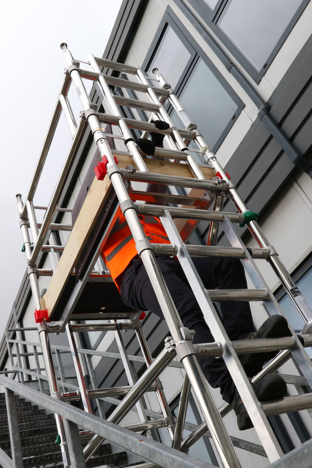 euro towers, stair access tower, bs 1139-6, working at height. safe working, staircase, access