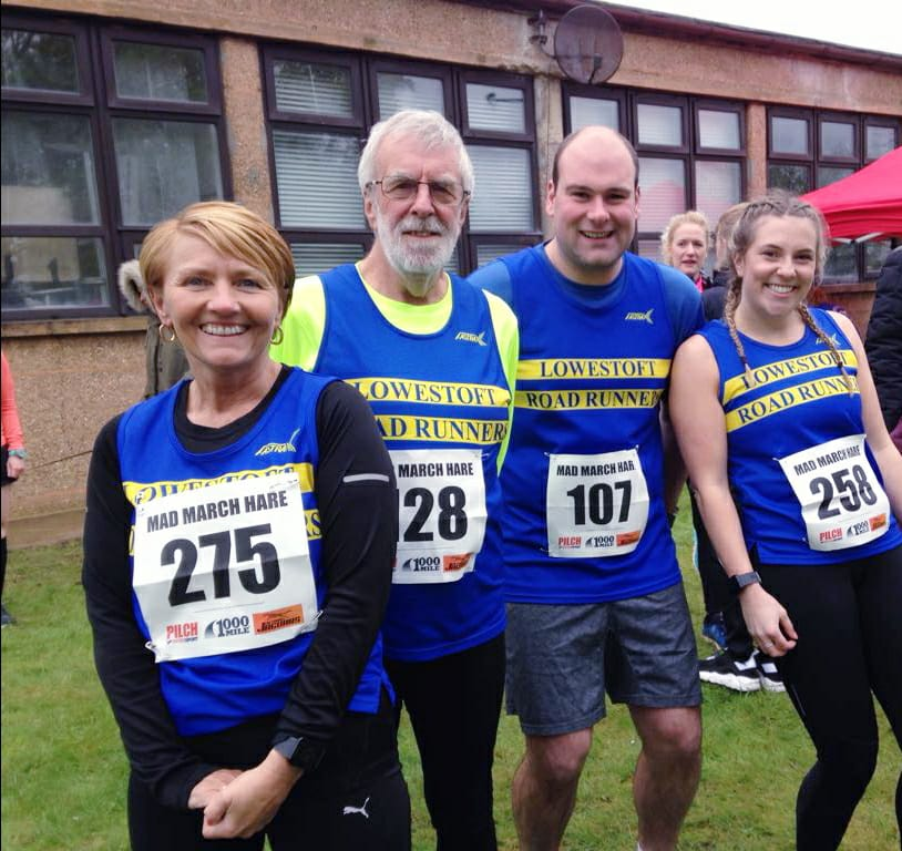 Lowestoft Road Runners at Coltishall