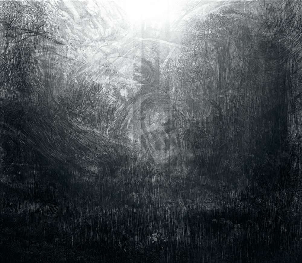 The Big Field in View of The Cig ,2017. Digital image. 140.4 x 161 cm.