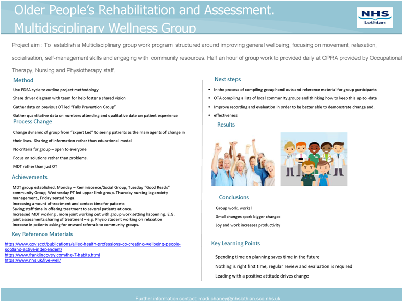 Older People's Rehab and Assessment