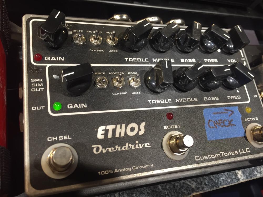 Custom Tones Ethos Overdrive Amp