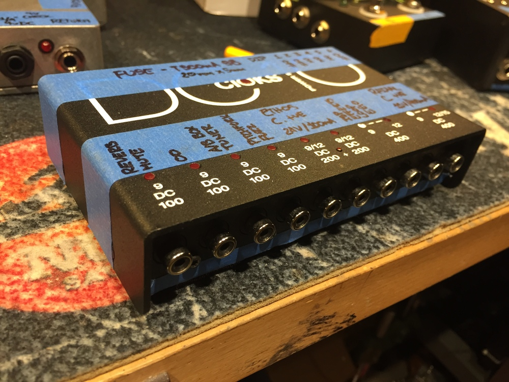 The Cioks DC10 - a core component to Khalil's pedalboard
