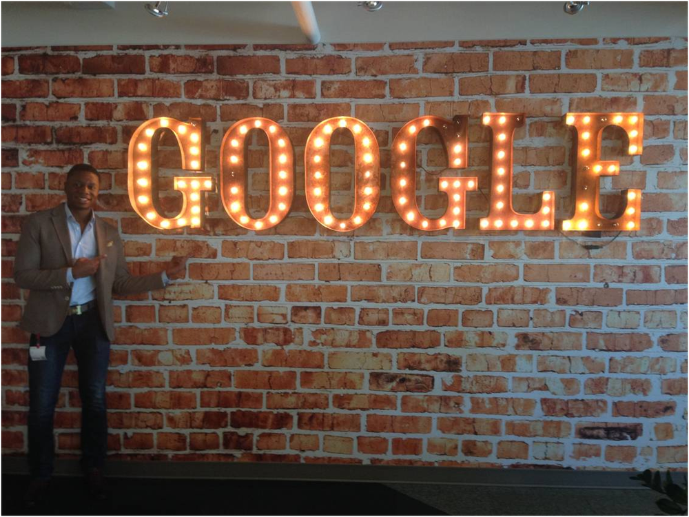 Ben (George Brown) at The Google Office