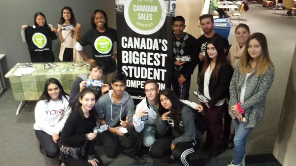 Schulich School of Business Ambassadors with GCSC Competitors
