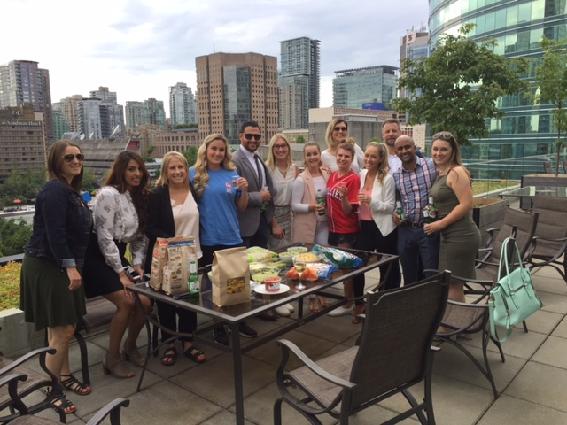 Rooftop Guac-Off with Vancouver team