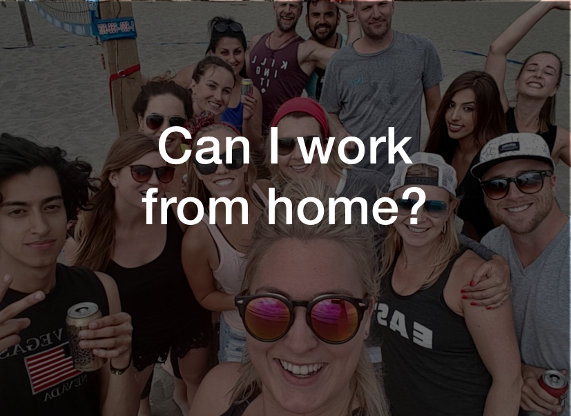 Can I work from home?  Watch what Armin Tankovic, Account Director, had to say  here .
