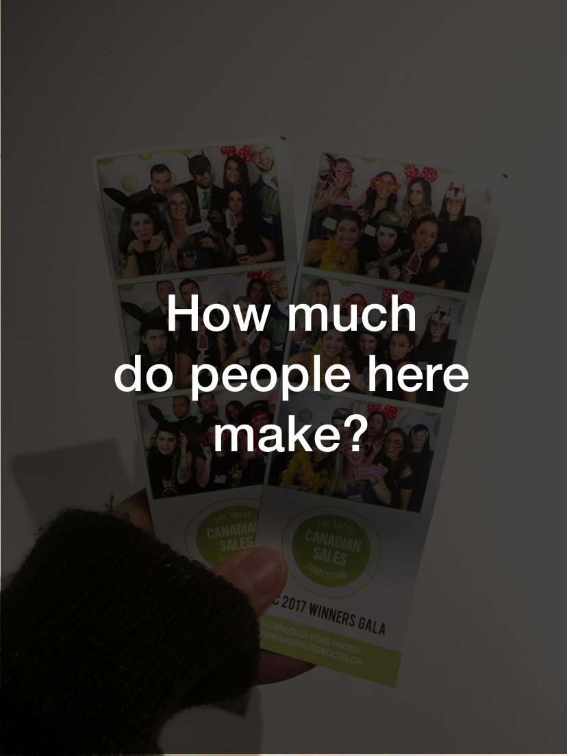 How much do people make here?  See what Account Director, Daniela Dos Santos, had to say about this  here .