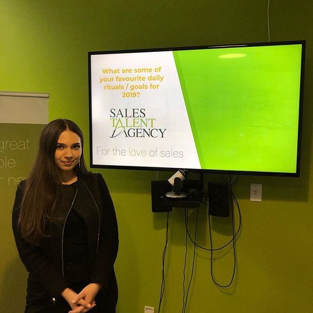 What are some of your favourite daily rituals/goals for 2019?  STA Account Manager Mariam led a great presentation at our Toronto office today; sharing some helpful strategies & tips for improving mental fitness.  Thank-you Mariam!  #statoday
