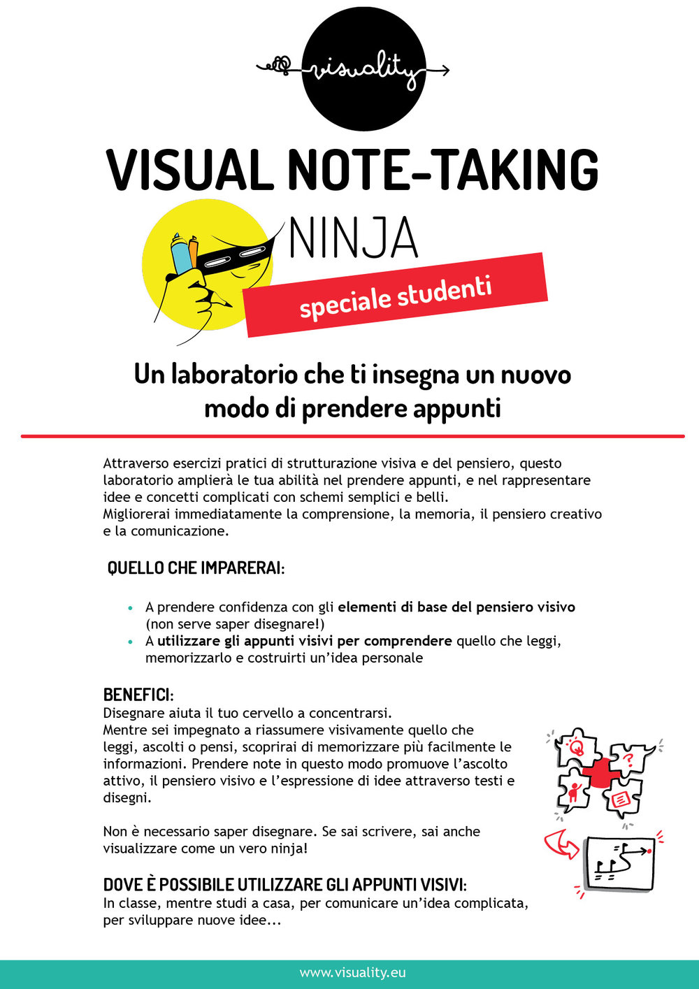 Sketchnote Ninja for students - Italian .jpg