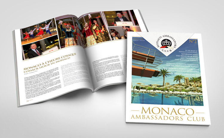 Monaco Ambassadors club magazine